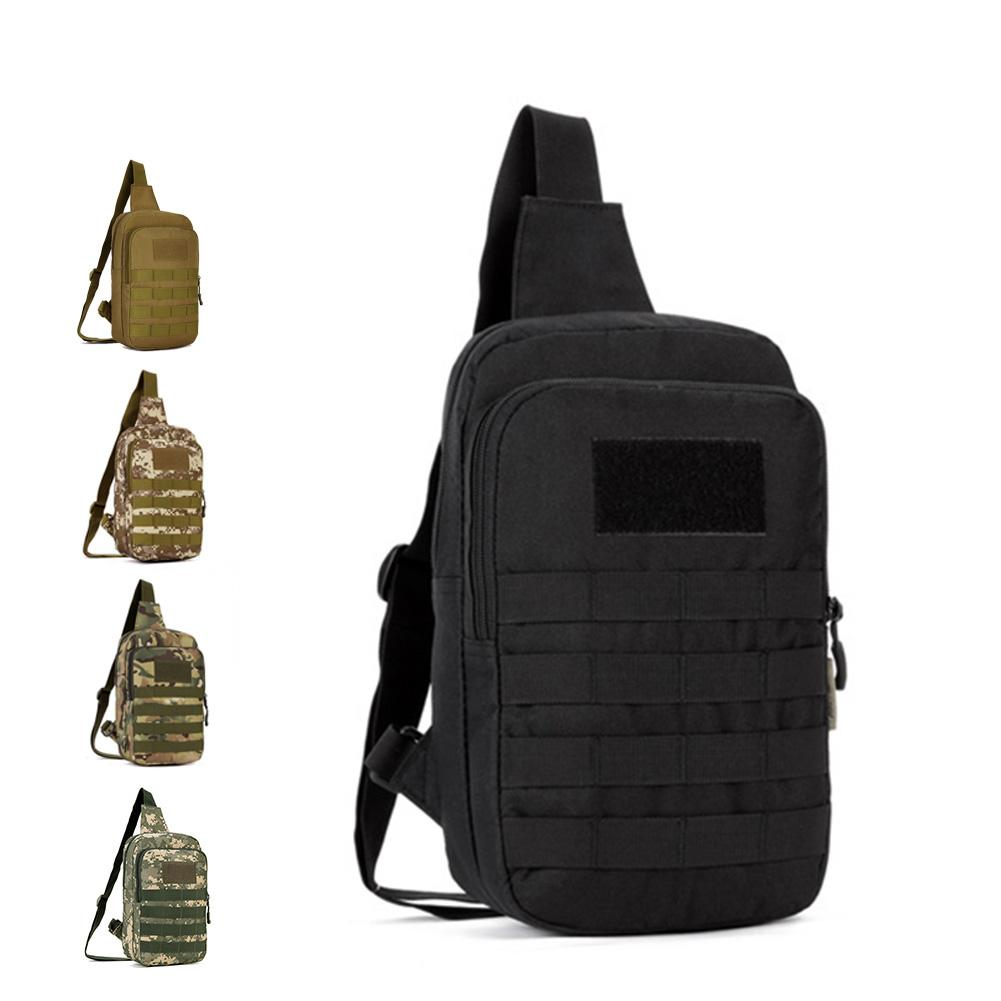 Tactical CrossBody Backpack MOLLE Waterproof Casual Chest Bag ... f9088e1a69