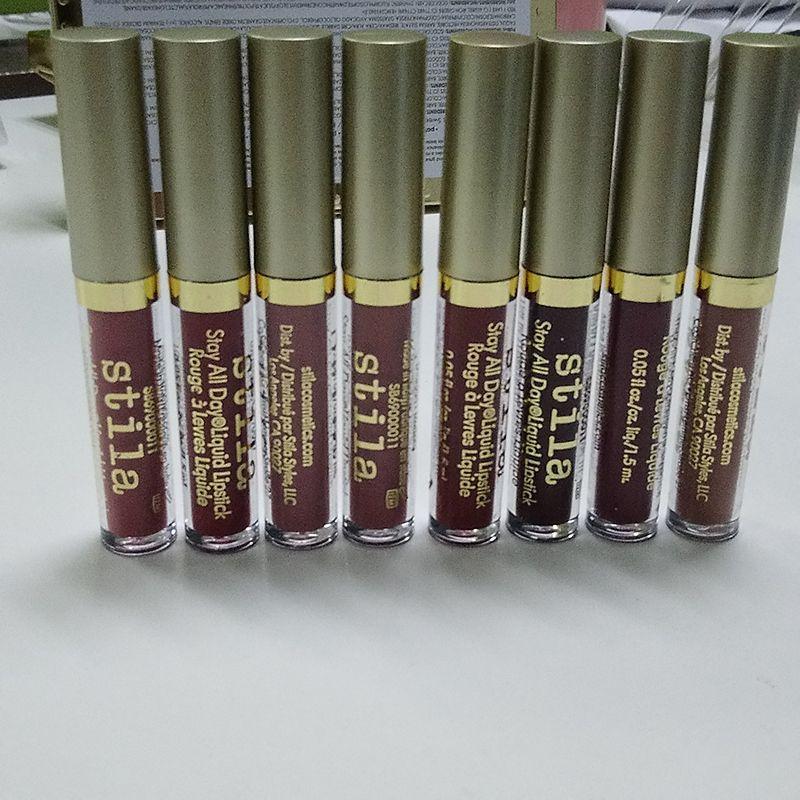 Stila Star-studded eight Stay All Days Liquid Lipstick set / box Long Lasting Creamy Shimmer Liquid Lipstick Lip Gloss