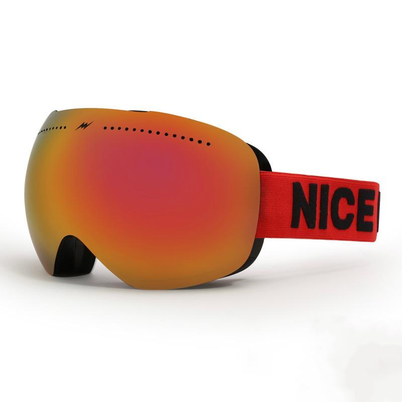 066288d3e842 2019 Outdoor Winter Ski Goggles Double Lens UV400 Anti Fog Big Ski Mask  Glasses Skiing Men Women Snow Snowboard Eyewear Large Brands From  Oyzhiming