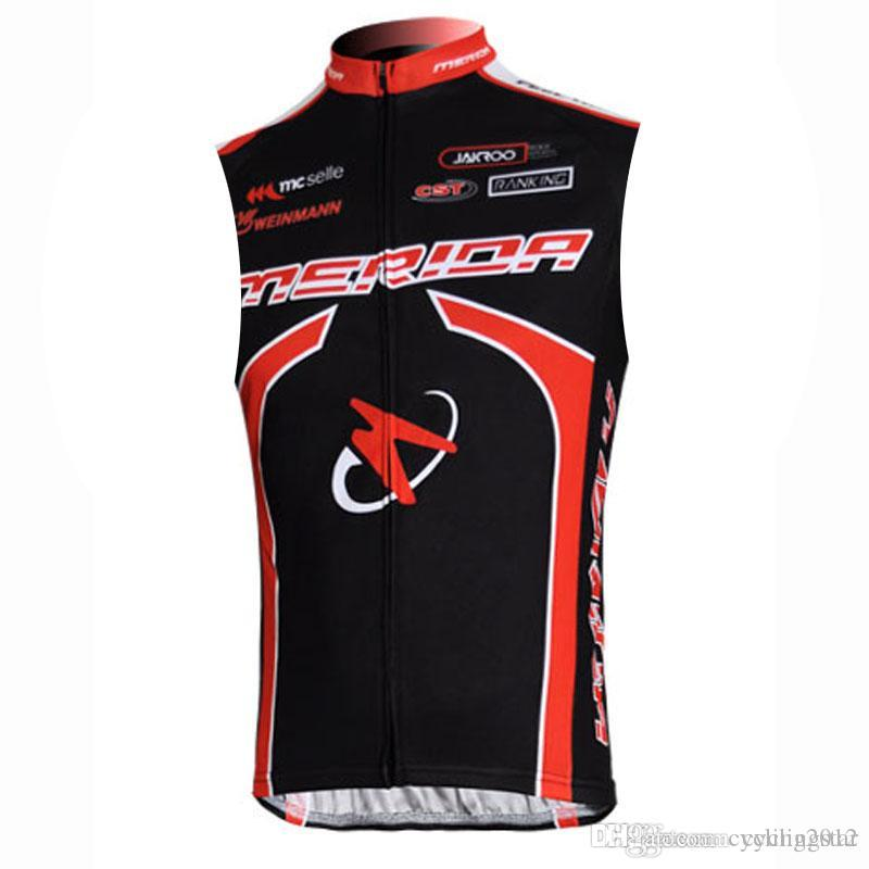 2018 Merida Cycling Sleeveless Jerseys Summer Racing Bicycle Vest ... fd5b6fd58
