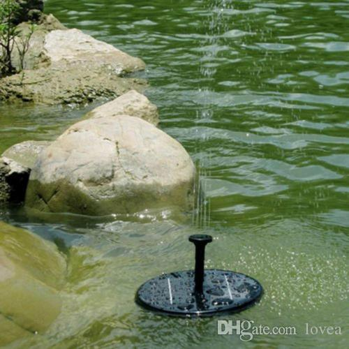 2019 Solar Powered Water Fountain For Bird Bath,Gardens,PondSolar Fountain  Water Pumps Floating Solar Powered Garden Water Fountain Pump For Pond From  Lovea ...