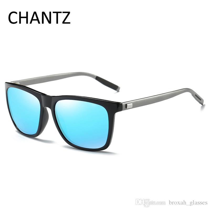 6e06e65e70822d Vintage Polarized Sunglasses Men Square Okulary 2018 Brand Driving ...