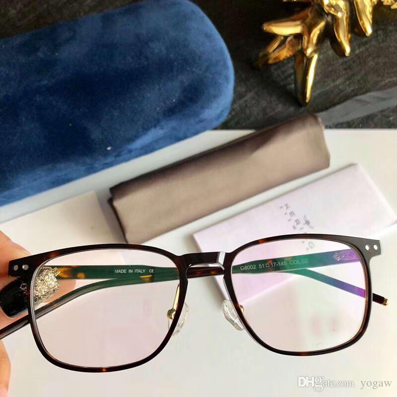 468136ea96 Mens Black Square Eyeglasses Frames Glasses Spectacle Frame Eyewear Black  Gold New with Box Online with  60.48 Piece on Yogaw s Store
