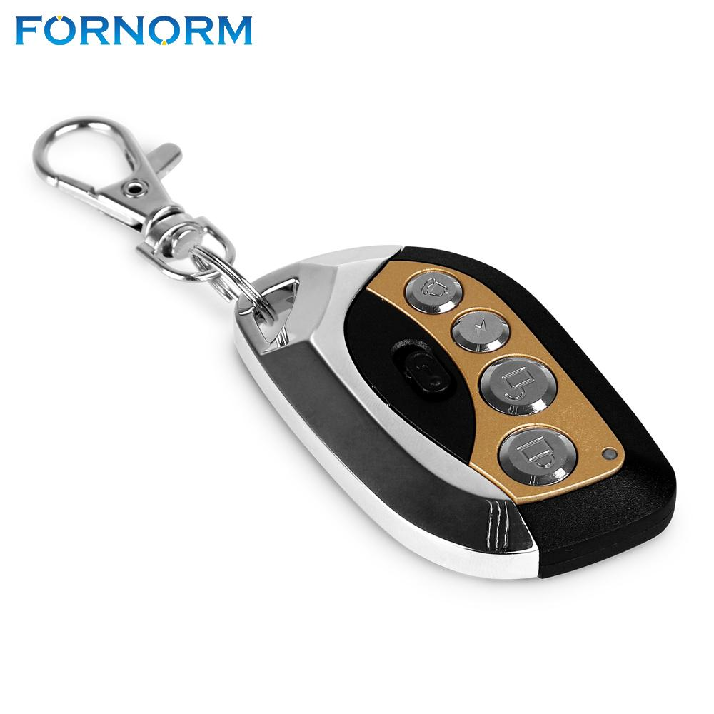 FORNORM Wireless Auto Remote Control Duplicator Adjustable Frequency 315MHz Keychain with Battery for Car Alarm Motorcycle Ect
