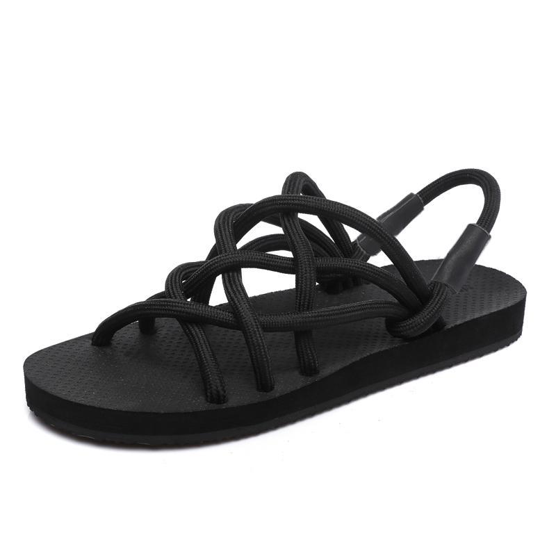 ba6ab6f97d875 2018 New Fashion Breathable Men Sandals Elastic Bar Summer Beach ...