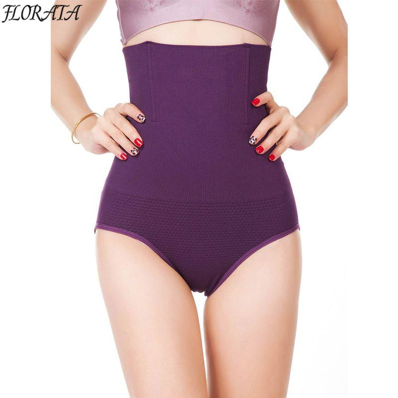 34577d632f 2019 Women High Waist Body Shaper Panties Seamless Tummy Belly Control  Waist Slimming Pants Shapewear Girdle Underwear Waist Trainer From  Lin and zhang