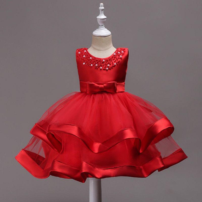 8153ae23c Girls Princess Dresses Toddler Girl Clothing For Birthday Tulle ...