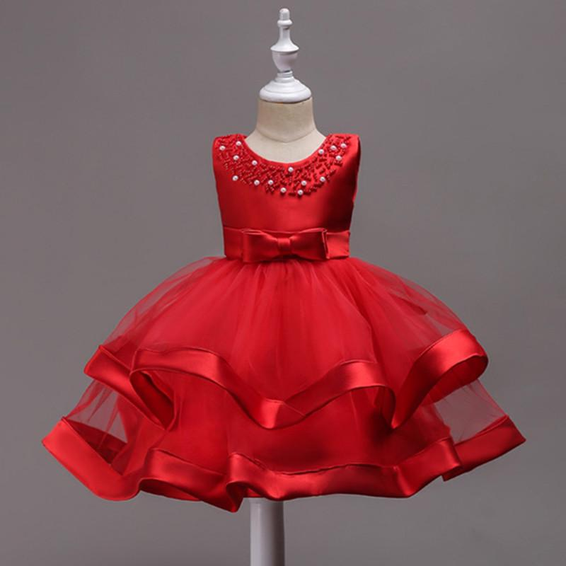 78ad93d58a Compre Meninas Princesa Vestidos Da Menina Da Criança Roupas Para O  Aniversário De Tule Meninas Vestidos De Festa Traje Para A Idade 3 4 5 6 7 8  9 10 Anos ...