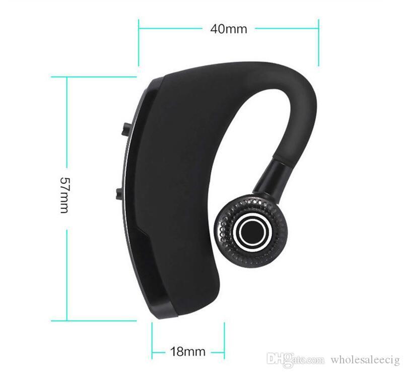سماعات الرأس اللاسلكية V9 اللاسلكية Bluetooth CSR 4.1 سماعات الرأس الاستريو للأعمال مع ميكروفون الاتصال الصوتي سماعات التحكم اللاسلكية مع الحزمة 2019