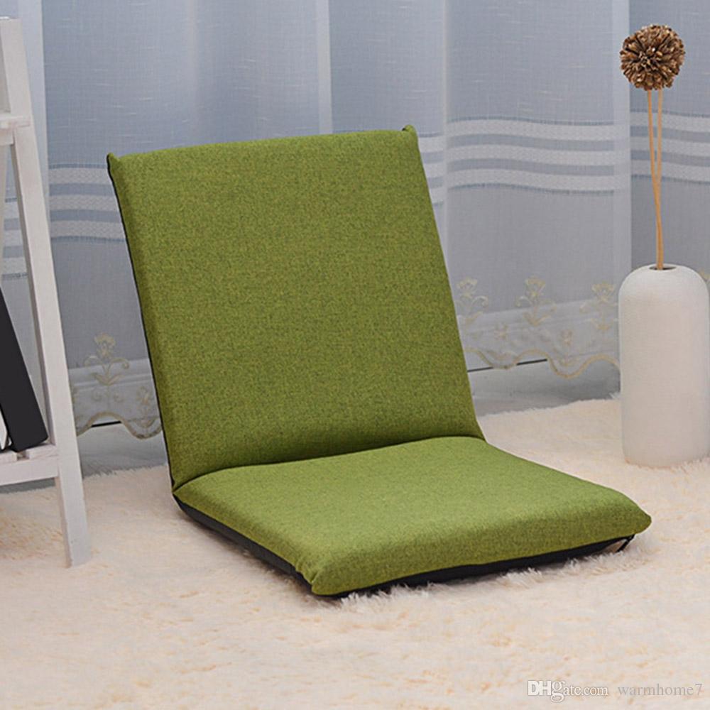 Chaise Réglable Paresseux Longue Relaxant Siège Pliant Confortable En Coton Plancher Canapé Coussin Pknw80OX