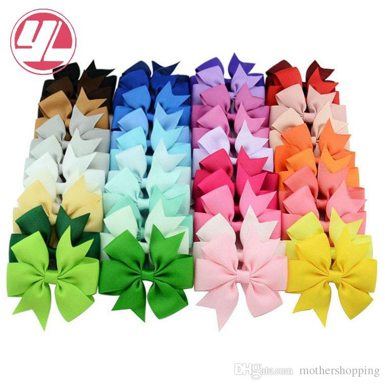 de6b464a84e44 Boutique Grosgrain Ribbon Pinwheel Hair Bows Alligator Clips For Babies  Toddlers Teens Gifts Formal Hair Accessories Cute Hair Accessories For  Teenagers ...