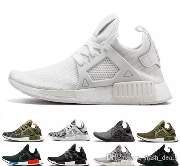 68865e83b 2018 NMD XR1 Primekint Blue White Captain America Men Women Running Shoes  Sports Designer Sneakers Olive Green Nmds XR1 PK Trainers US 5 11 Shoes  Sports ...