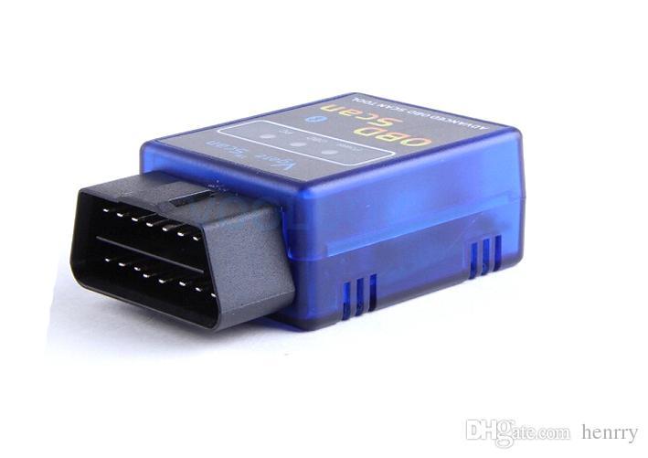 새로운 Vgate 미니 ELM327 블루투스 OBD 스캔 PC PDA 모바일 무선 검색 도구 느릅 나무 327 BT