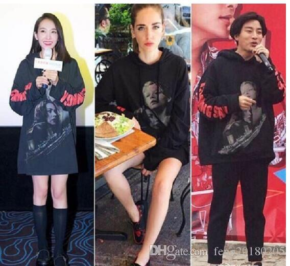 2019 new streetwear hiphop kpop clothes urban brand-clothing Titanic vetements black oversized hoodie pullovers hoodies hip hop