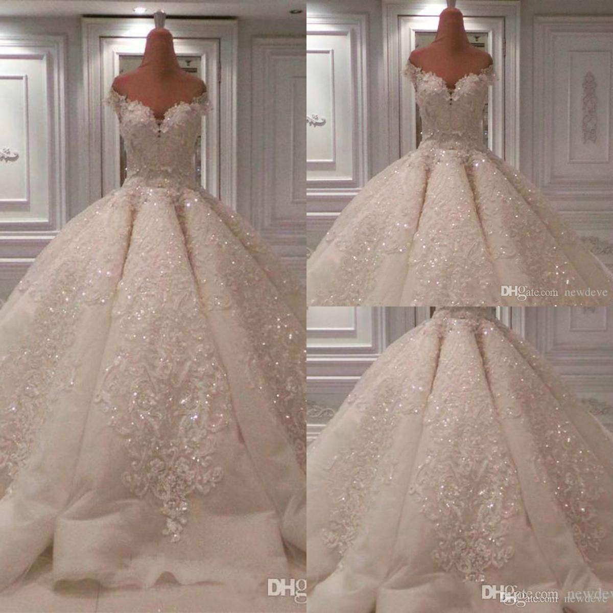 Linen Wedding Dress.Luxury Crystal Wedding Dress Sexy Bling Bling Beaded Lace Ball Gown Weddig Dresses Bridal Gowns Custom Made