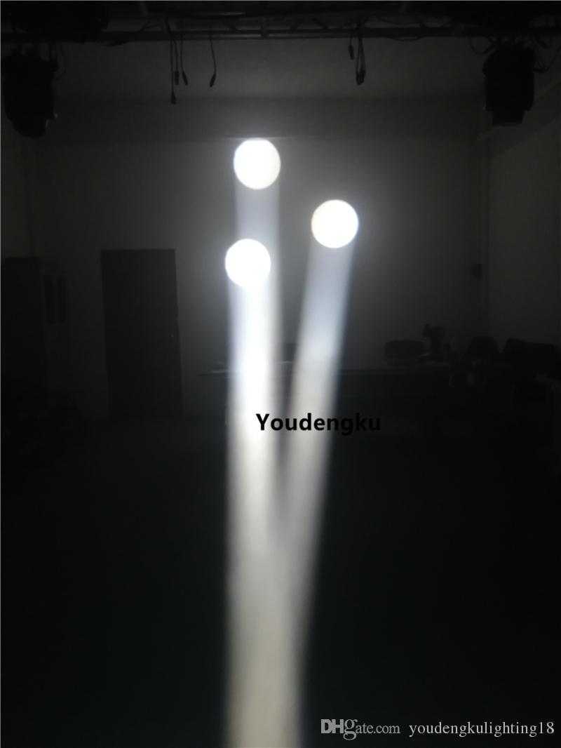 4 adet amerikan dj kafasını hareket ışıklar süper nokta led ışın yakınlaştırma 200 wattlık vaka ile baş disko ışık hareketli led RGBW kafa nokta hareketli led