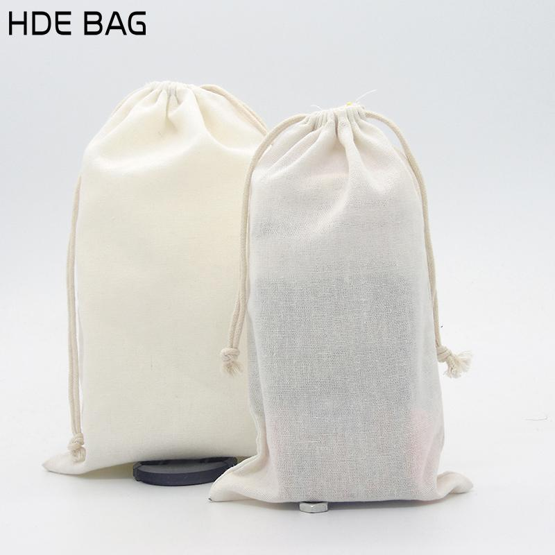 b50d3b932a Eco-friendly Cotton Linen Drawstring Bag for Shoes Travel Sundries  Container Cloth Bags Customized Own Logo Shopping Gift Bag