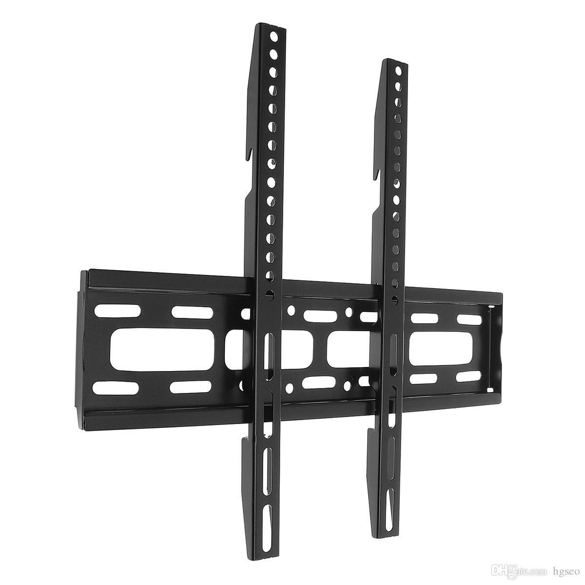 Universal 50KG TV Wall Mount Bracket Fixed Flat Panel TV Frame with Level Instrument for 26-65 Inch LCD LED Monitor Flat Panel HMP_60M