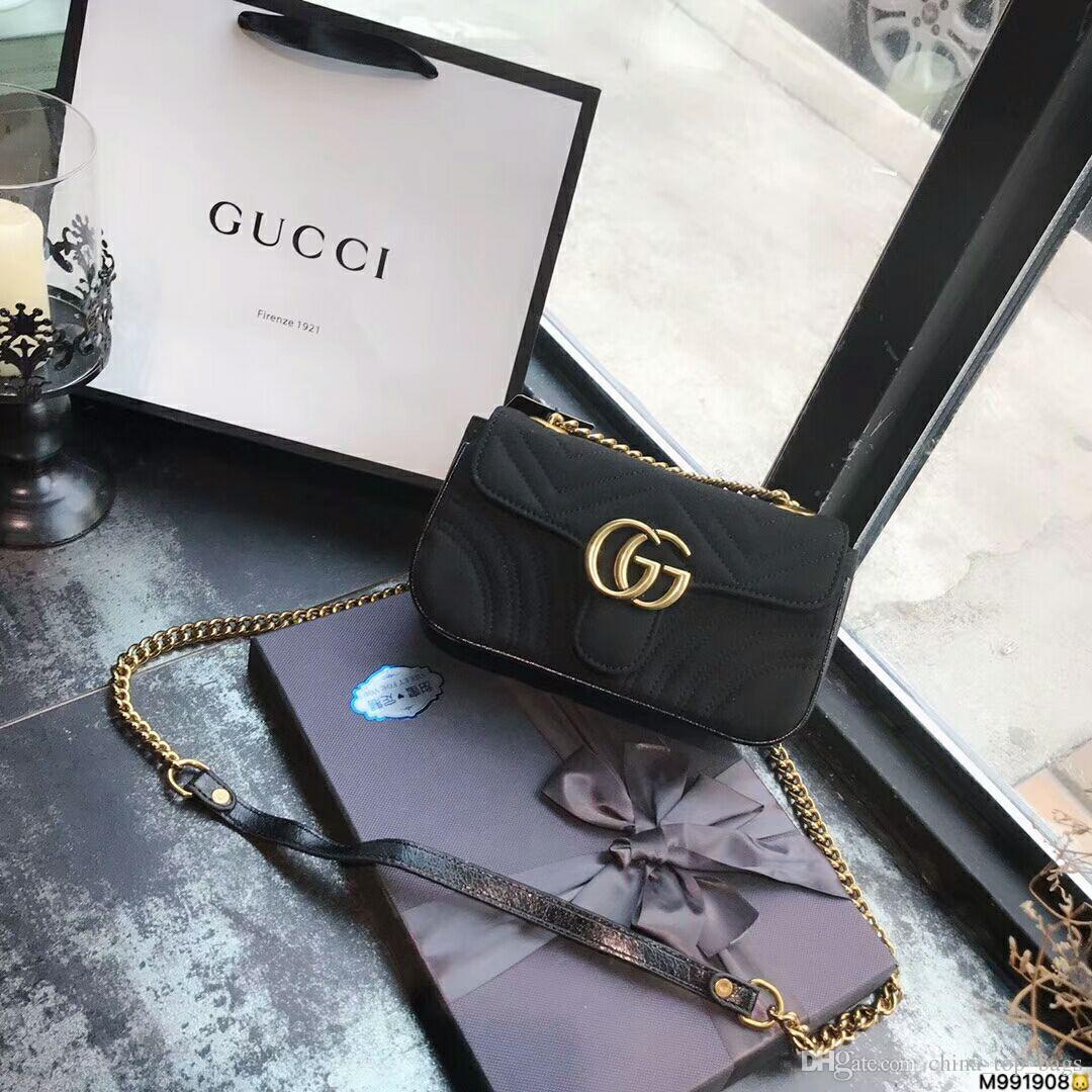4967f275979071 Luxury Brand Marmont Handbag Ladies Handbag Leather Shoulder Bag Famous  Designer Messenger Bag Velvet Y1 Handbag Designer Handbag Luxury Bag Online  with ...