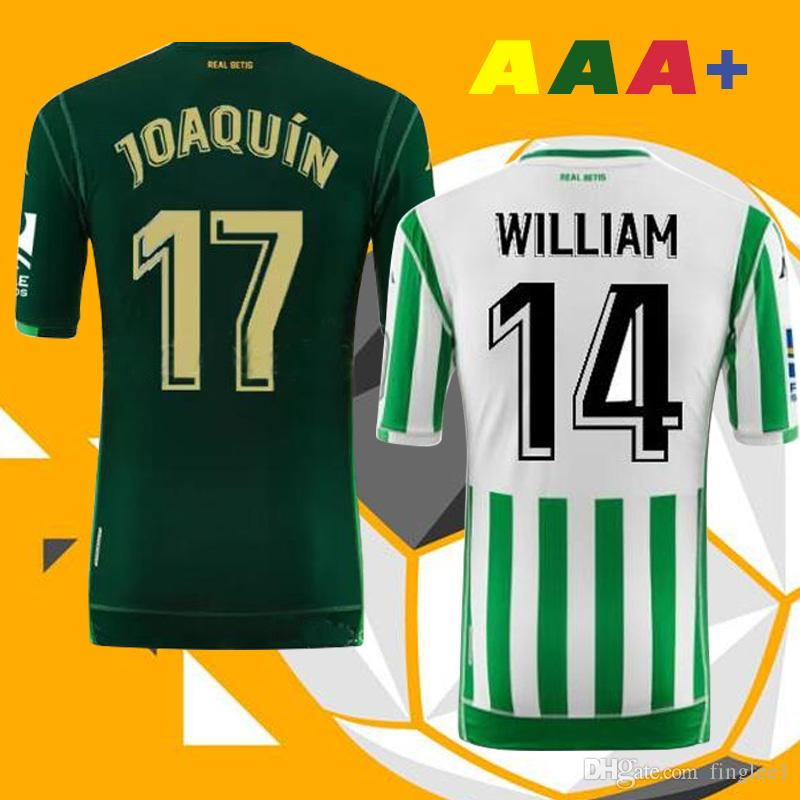 44dfc251a7b AAA 18 19 JOAQUIN REAL Betis Soccer Jersey HOME Away 2018 2019 ...