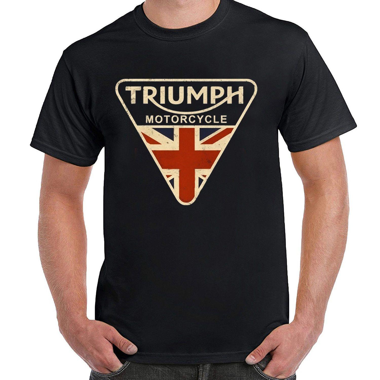 3406b308 Mens Craked Union Jack Triumph Motorcycle Shirt UK Flag Clothing T Shirt  Vintage Popular T Shirt Funny It Shirts From Identatee, $11.01| DHgate.Com