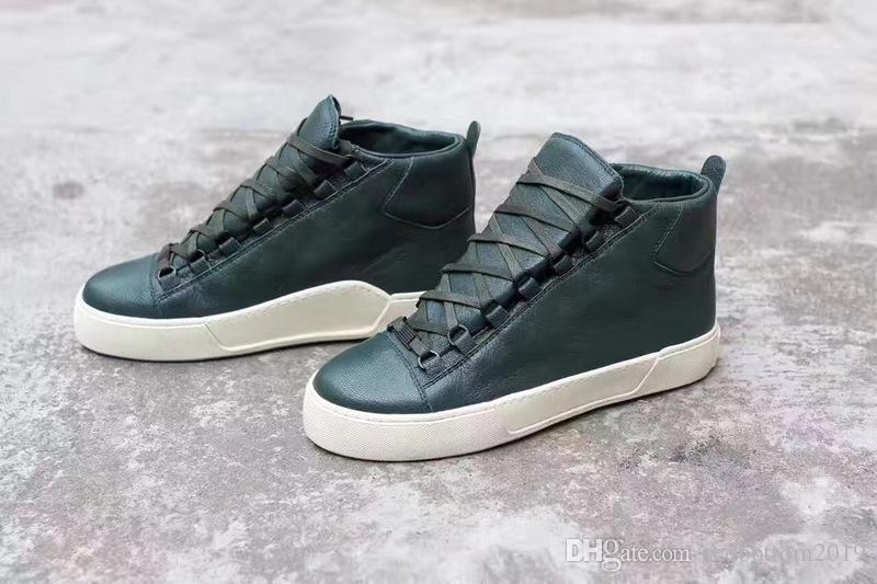 ea0bafdc2a3 Classic New Promotion!! Fashion Arena Sneakers Genuine Leather Hi ...
