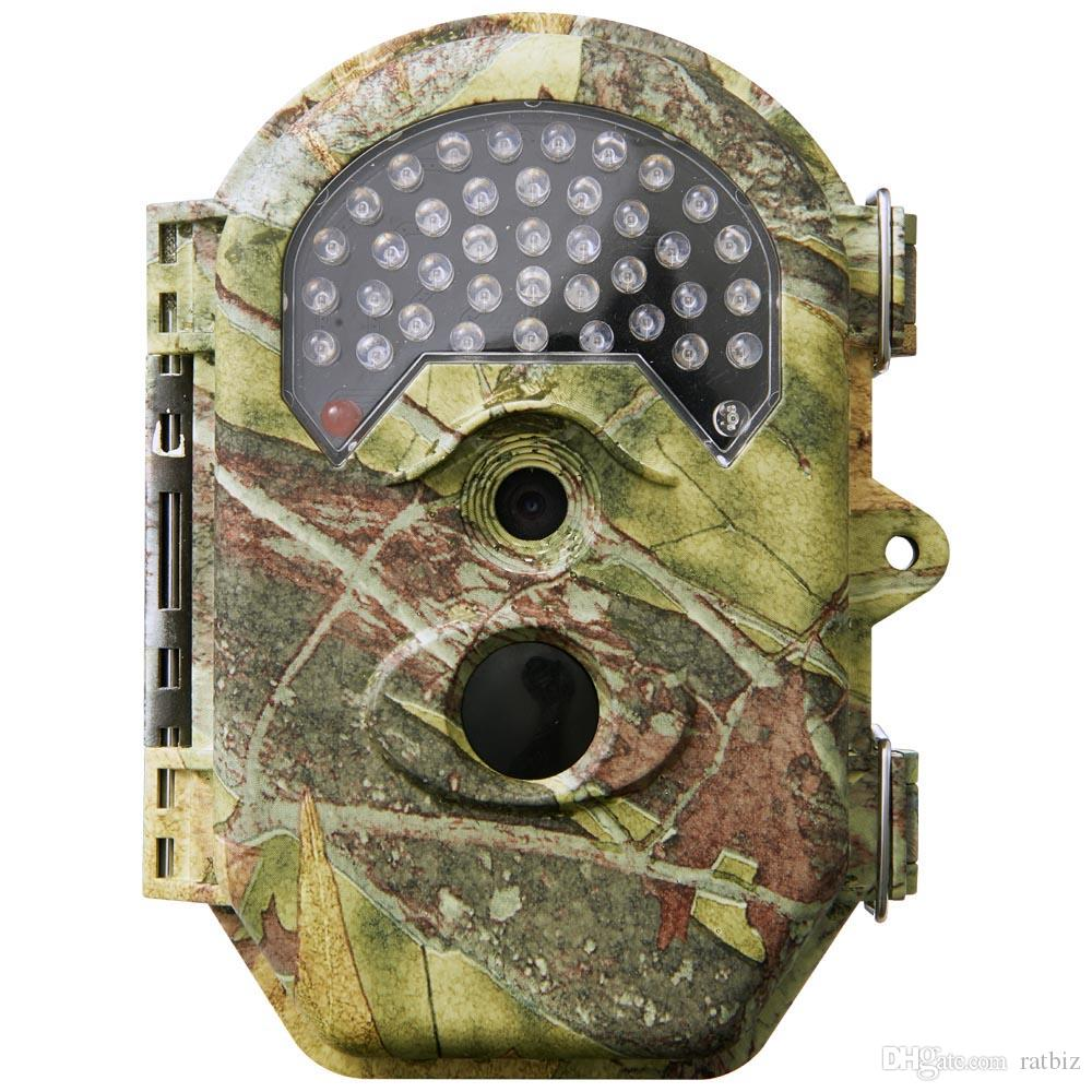8GB Trail Game Camera 16MP 1080P Wildlife Scouting Hunting Camera 75ft/22M Infrared Night Vision PIR Motion Detection IP56 Waterproof DV52