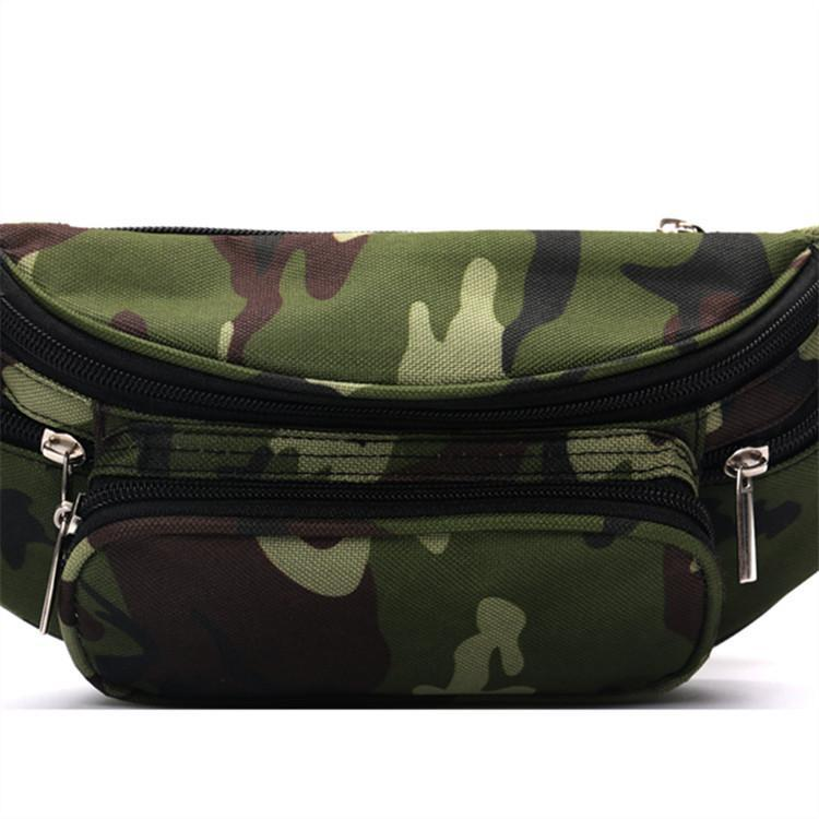 b10dfd0e1 Compre 2018 High Quality Ride Travel Camuflaje Bolsa De Cintura Bananka  Travel Leisure Fanny Pack Hombres Y Mujeres Walking Mountaineering Belly  Band A ...