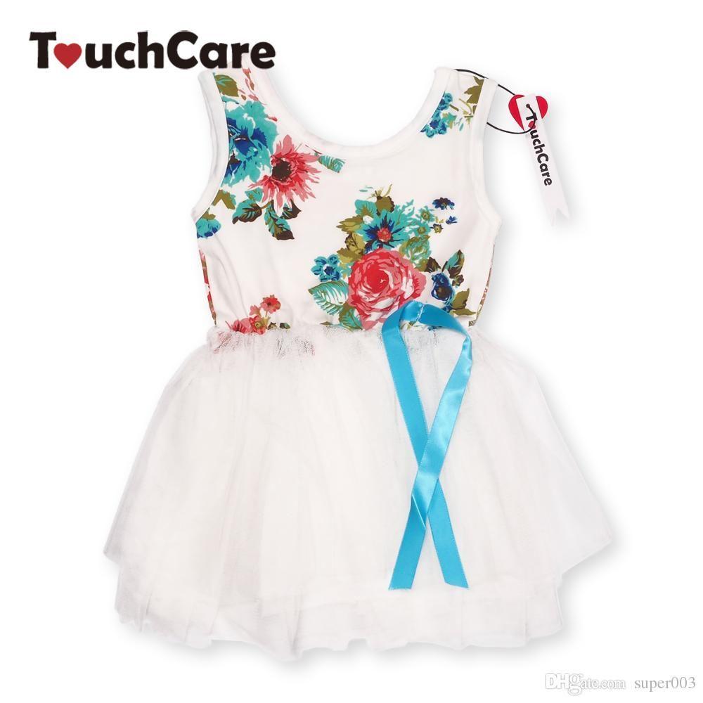 5504e5b2c 2019 Girl Dress Summer New Floral Baby Girl Dress Princess TuTu ...