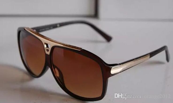 1 قطع عالية الجودة ماركة نظارات الشمس نظارات شمسية مصمم النظارات رجل إمرأة نظارات شمسية سوداء تأتي مع مربع حالة