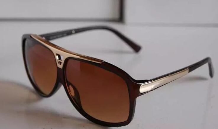 고품질 상표 일요일 유리 Evidence Sunglasses 디자이너 안경 아이웨어 mens 여자 세련된 블랙 선글라스 박스 케이스 함께