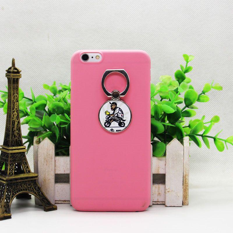 Soporte universal de metal para teléfono móvil para sublimación Personalizado DIY botón Anillo en blanco personalizado para iPhone para Sumsung ventas al por mayor