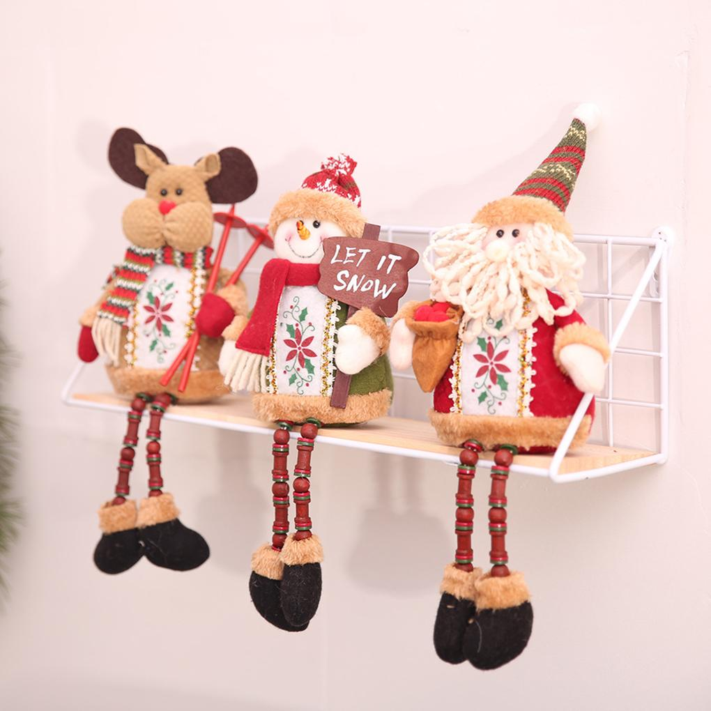 Großhandel 2018 Bead Long Leg Sitzend Weihnachtsbaum Puppe ...