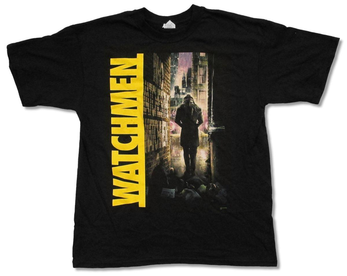 69a60f89381 WATCHMEN RORSCHACH BLACK BLK T SHIRT NEW OFFICIAL MOVIE COMIC ADULT Make Your  Own Tee Shirt Design Crazy T Shirt Design From Amesion75, $12.08| DHgate.Com