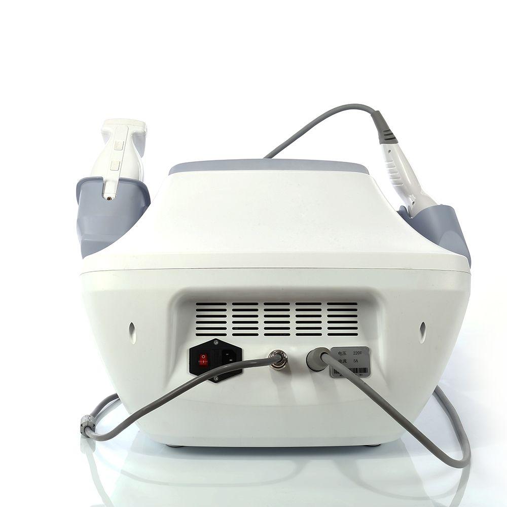 2 en 1 HIFU Eliminación de arrugas liposónicas Pérdida de peso Ultrasonido enfocado de alta intensidad Máquina de adelgazamiento liposónico de estiramiento facial Hifu para Salon Spa