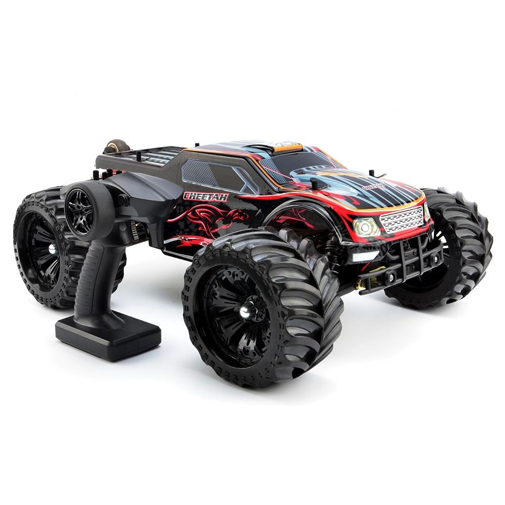 RC Cars Cheetah 4WD 1 / 10 80km / H High Speed Buggy RC
