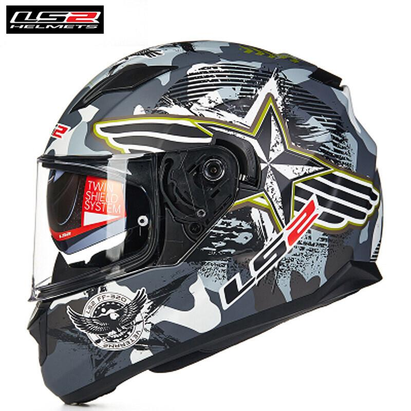 Acheter Ls2 Stream Casques Ff328 Casque Intégral Moto Visières