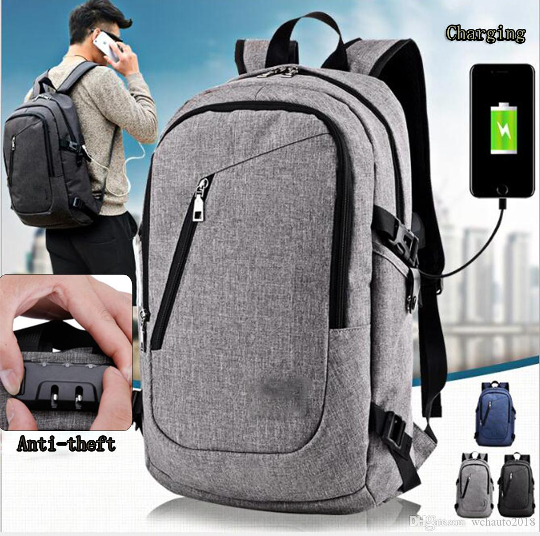Anti Theft Business Laptop Backpack with USB Charging Port Fits 15.6 Inch  Laptop for Men Or Women Men 15.7 Inches Backpacks for Travel Large Capacity  ... 92e0dc980b