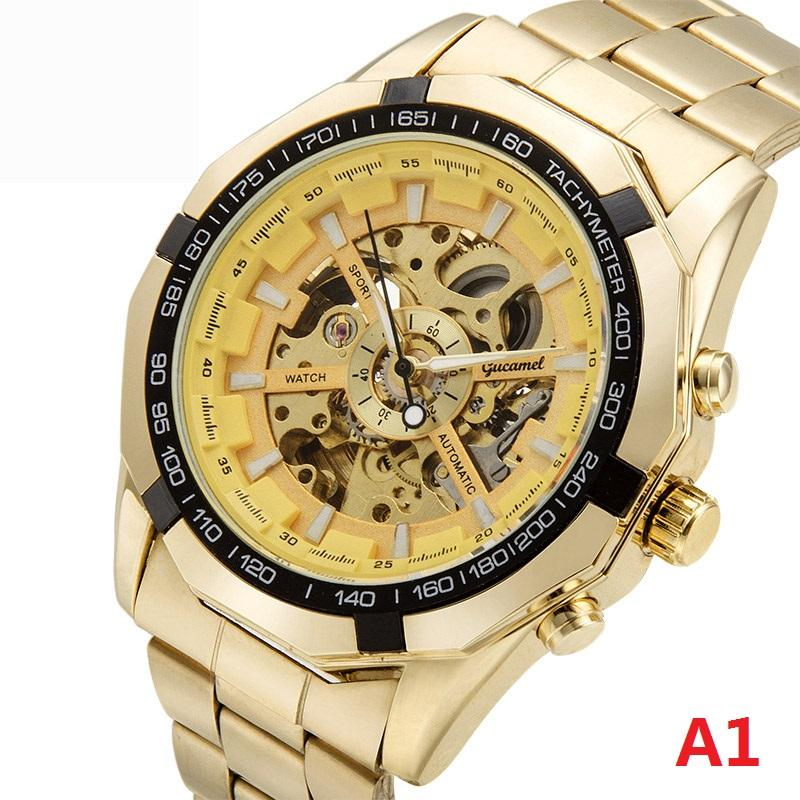 Men Automatic Mechanical Watch Vintage Man Watch Top Brand Luxury 8 Styles reloj