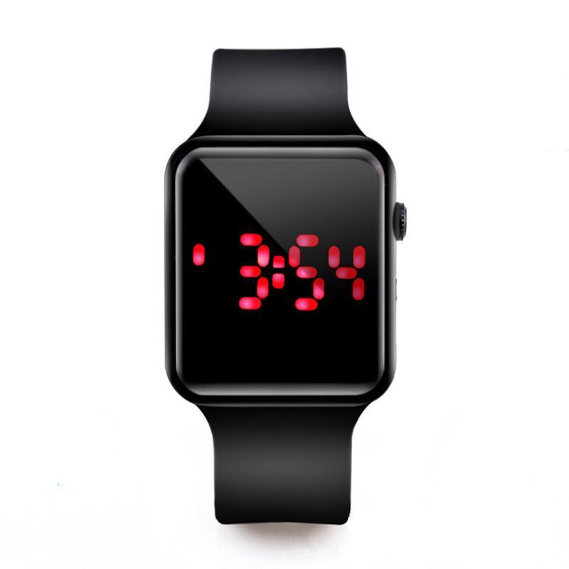 c75a7f1b8b8 Compre Novos Homens Esporte Relógios LED Mulheres Relógio Digital Homem  Exército Silicone Relógio De Pulso Relógio Hodinky Ceasuri Relogio Masculino  De ...