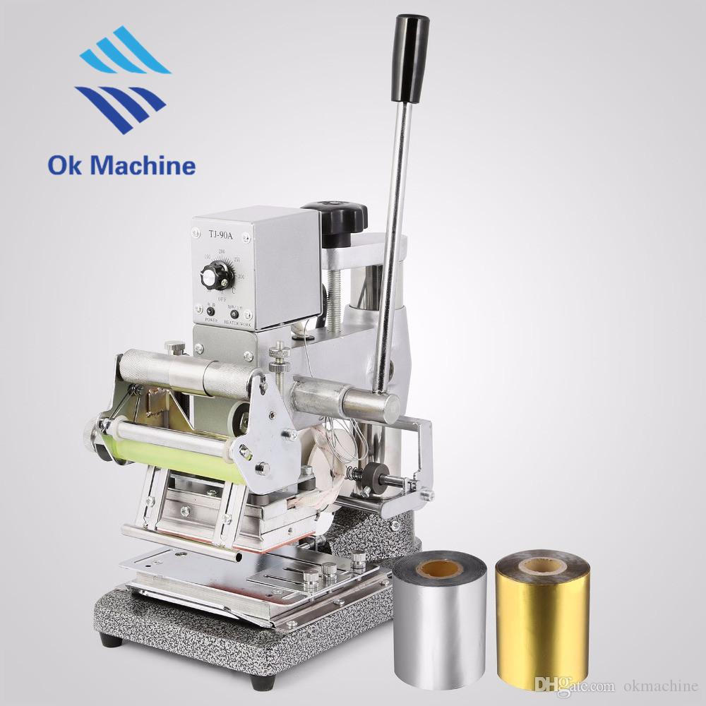 Card Embosser Embossing Machine And Hot Foil Stamping Machine Card ...