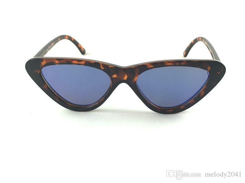 8ecbe7d250 DHL Shipment Cat Eye Small Sunglasses Triangle Frame Women Sun ...