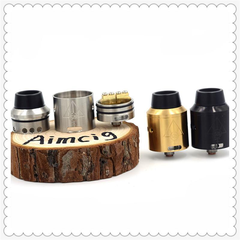 528 Goon V4 RDA Custom Vapes Goon V4 Atomizers 24mm POM Drip Tip Electronic Cigarette for Wholesale DHL Free