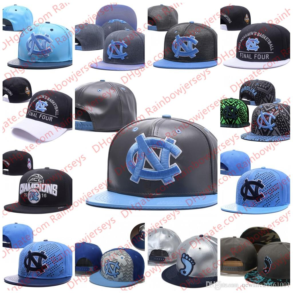 NCAA North Carolina Tar Heels Snapback Caps 2018 New College Adjustable Hats  All University Caps Gray Black Light Blue White One Sze For All UK 2019  From ... 1b7b802fd6eb