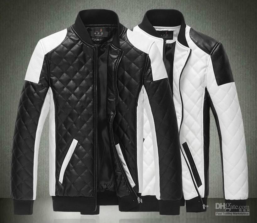 75a178a01b0 2015 Spring New Fashion Men S Jacket Simple Hit Color Pu Leather Jacket  Motorcycle Jacket Slim Men S Winter Coat Mens Jackets Men S Outwear Men  Jakets Man ...