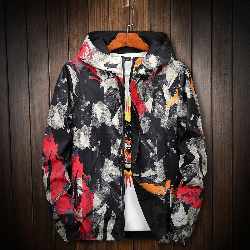 cbe0260176eb1 HETOBETO Camouflage Jacket Men Women Plus Size Camo Hooded Windbreaker  Jackets Canvas Jacket Parka Fashion Streetwear Top Jacket Mens Jackets  Cheap From ...