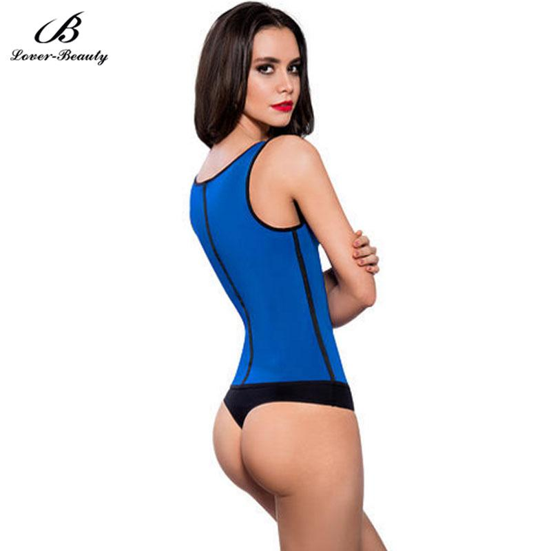 Lover Beauty Workout Latex Waist Trainer Vest Long Torso Corselet Underbust Latex Waist Trainers Corsets Body Slimming Shapers