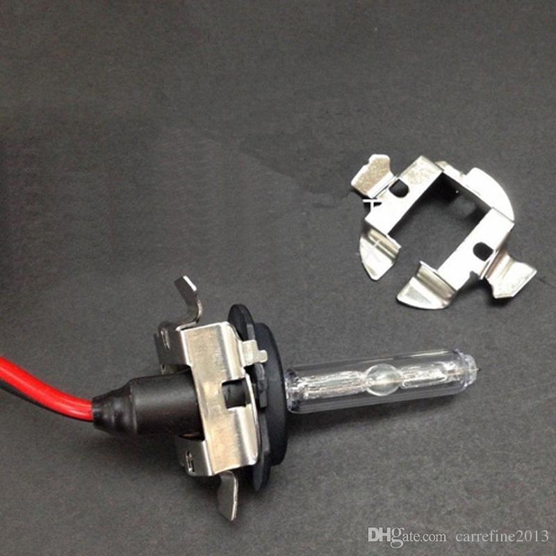 H7 HID Metal clipe retentor adaptador titular da lâmpada para BMW / benz / Audi / Opel / Buick H7 xénon HID farol suporte da base da lâmpada