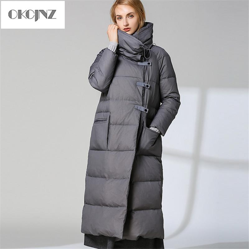 5343c038b5785 2019 Duck Down Jacket Womens Winter 2019 New Outerwear Coats Female ...