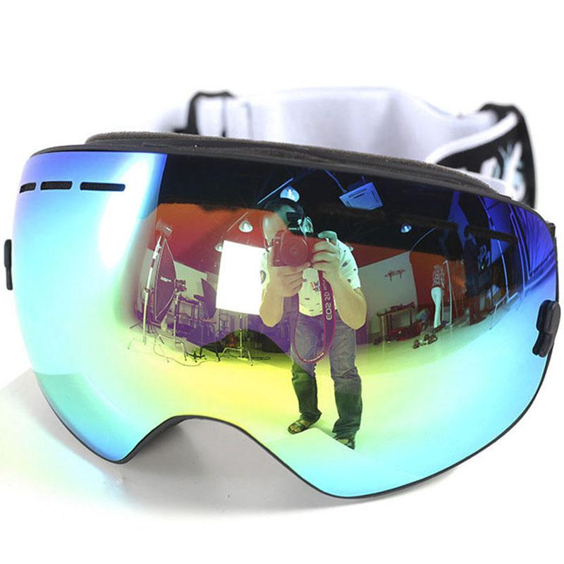 432021871951 2019 J18 Man Woman Kids Brand Ski Goggles Snowboarding Glasses Ski Helmet  Mate Snowmobile Mask Fast Moto Bike Cycling Fishing Eyewear From Neyei